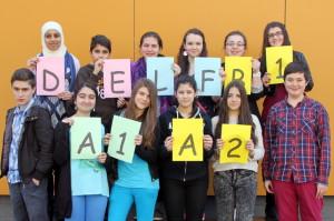 DELF-Prüflinge 2014 am GSG