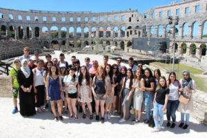 Kroatien 2016 02 Amphitheater Pula