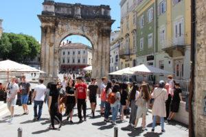 Kroatien 2016 04 Stadtführung Pula